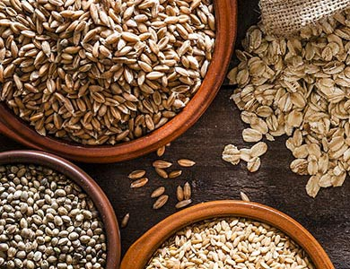 farine integrali: importanza delle fibre