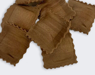 Produzione artigianale Agnolotti al cacao