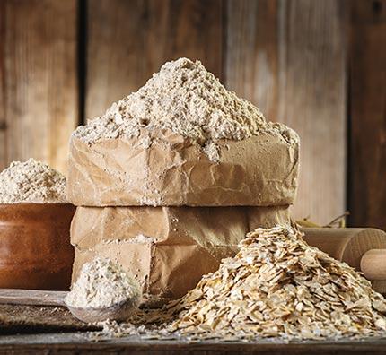 pasta fresca con farine integrali macinate a pietra e certificate biologiche